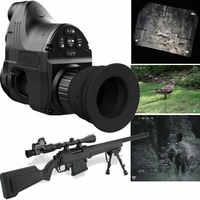 Nachtsicht Optik Monokulare für Zielfernrohr w/Wifi APP 200M Palette NV Umfang 850nm IR Nachtsicht Anblick jagd Digital Kamera