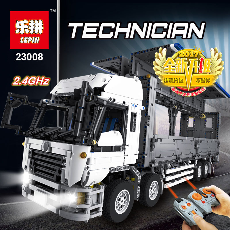Lepin 23008 4380Pcs The MOC Wing Body Truck Set Educational Building Block Bricks Children Toys Gift Compatible legoed 1389 new lepin 16008 cinderella princess castle city model building block kid educational toys for children gift compatible 71040