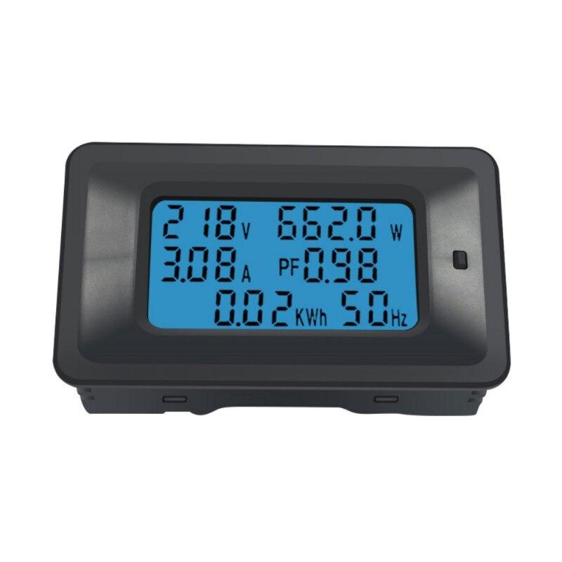 220V Digital Voltage Meters Indicator Power Energy Voltmeter Ammeter Current Amps Volt Watmeter Tester Detector 20/100A