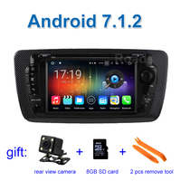 Quad Core Android 4 4 4 Car DVD Video Player GPS For Seat Ibiza 2009 To