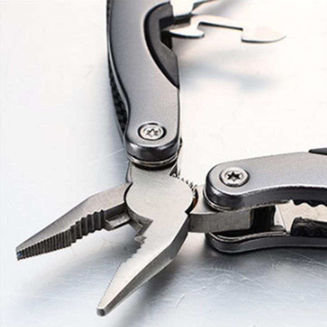 Pro Outdoor Multitool Pliers Serrated Knife Jaw Hand Tools+Screwdriver+Pliers+Knife Multi - purpose tool set Survival Gear