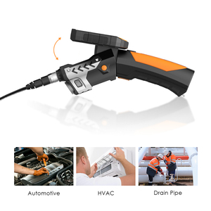 """Image 3 - 4.3"""" LCD Digital HD Snake Camera 7.6MM Drain Pipe Inspection Endoscope Borescope Wire Probe Waterproof Camera 1M/3M/5M Cable"""