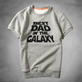 New Star Wars sweatshirt BEST DAD IN THE CALAXY sweatshirt Winter Thick warm short sweatshirt Winter Clothing Cotton sweatshirt