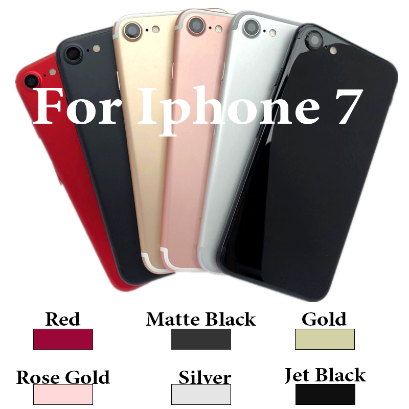Battery-Cover Back-Housing IMEI iPhone7 Chassis Sticker--Tool for 1778/a1660 Buttons
