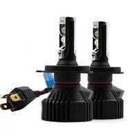 YOTONLIGHT 2Pcs Super Bright XHP50 Led Headlight H4 HB3 9005 H7 H11 H8 H9 Led Bulb Car Light 60W 16000LM 6000K Auto Led Lamp 12v