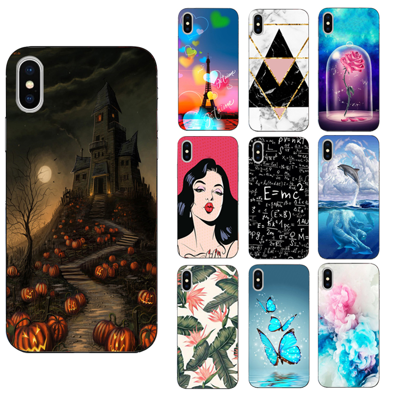 FOR iPhone 5 5S SE 6 6S 7 8 Plus X Case Cover Soft TPU FOR Funda iPhone 6S Case FOR Coque iPhone 5S Case FOR iPhone 6