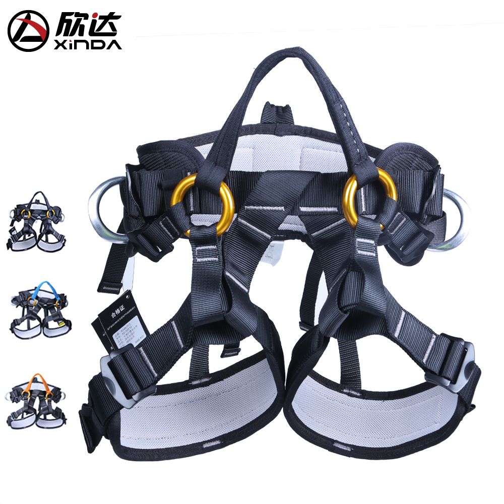 XINDA Professional Outdoor Climbing Equipment Tree Pruning Operations Aerial  Safety Climbing Protection Training Activities