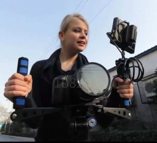 Kit DSLR Rig Filme Shoulder Mount Holder Fácil Disparo Da Câmera Para nikon D7100 Para DV Canon 5d 6D 7D 5D3 D800 D600 D610 D810 5D4