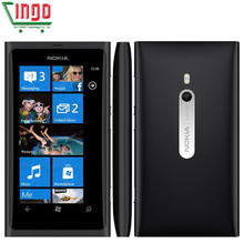 "Original Nokia Lumia 800 16GB 3.7""AMOLED 3G GPS WIFI 8MP Windows phone 7.5 Unlocked Factory Refurbished"