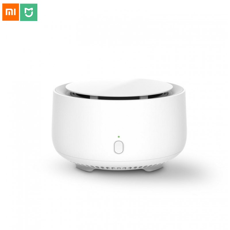 Original Xiaomi Mijia Mosquito Repellent Killer Timing Function No Heating Fan Drive Volatilization Insect Repeller Indoor Use