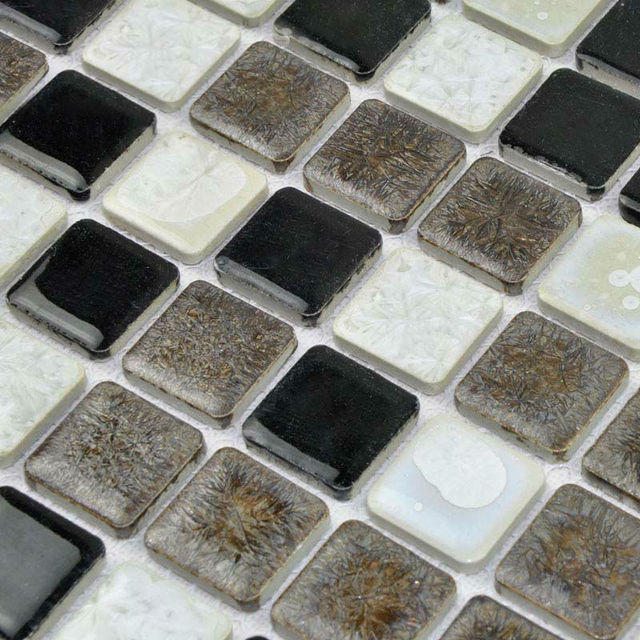 Porcelain Tile Backsplash Glazed Ceramic Stickers Kitchen Mosaic Flooring Designs Tc 2507tm Bathroom