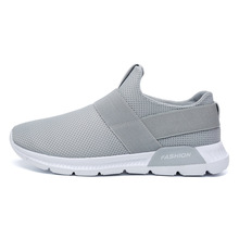 Men Shoes Sneakers Breathable Tenis Masculino Light Weight Footwear Krasovki Slip On Male shoes Adulto Zapatos Hombre Size 39-46