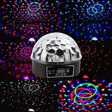 Jiawen 18 Вт Общего Этапа Диско СИД RGB Кристалл Магия Эффект Dot Светлый Шар DMX Свет КТВ Партия (AC 90-240 В)