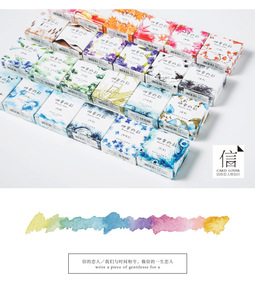 Image 5 - 24 個/1 セット和紙テープセットロットマスキングテープ日本かわいい粘着レースヴィンテージ diy スクラップブッキング washitape ステッカー装飾