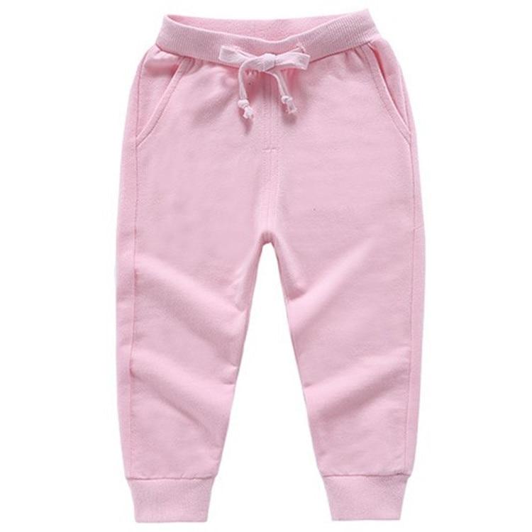 Retail New Warm Velvet Pants For 2-10 Yeas Solid Boys Girls Casual Sport Pants Jogging Enfant Garcon Kids Children Trousers 14