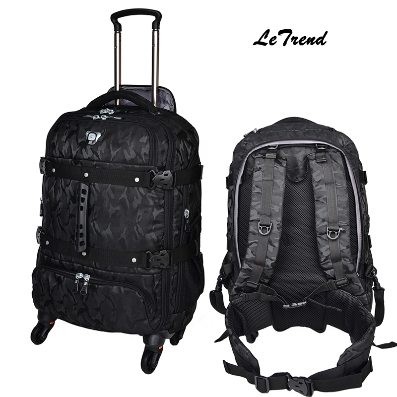 Popular Backpack Rolling Luggage-Buy Cheap Backpack Rolling ...