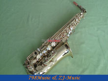 NEW Professional Clear Lacquer Eb Alto Saxophone High F# With Case