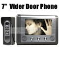 DIYSECUR 7 inch Wired Video Door Phone Door Bell System Kit Home Security Entry 2 Way Intercom IR Camera