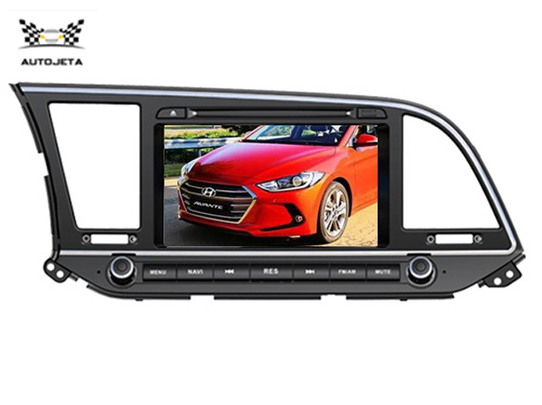 4ui Intereface Combined In One System Car Dvd Player For 8 Lcd Hyundai Elantra 2016