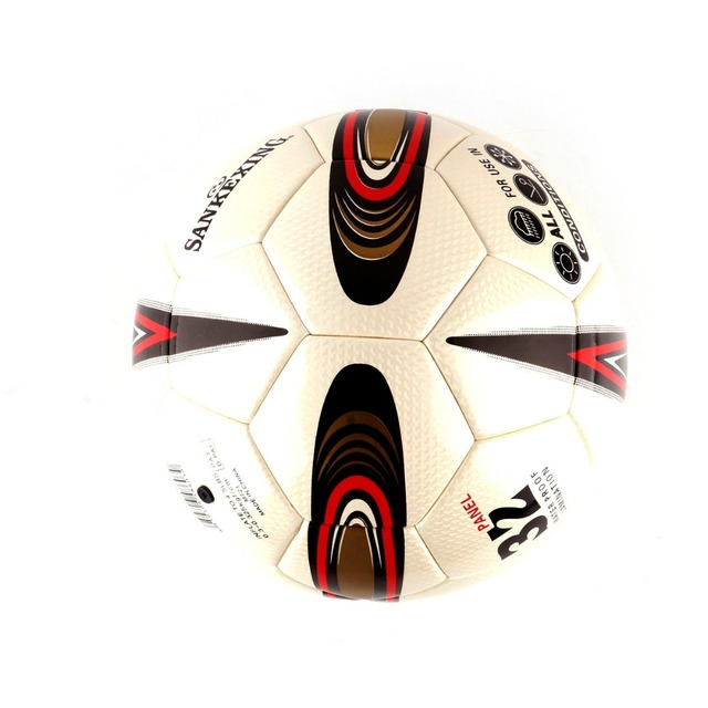 Genuine Professional Soccer Ball Soft Leather Seamless 4 Size Children and Adults Match Training Football Ball 640-650mm