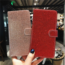 Wekays For Huawei Enjoy 7S Case Bling Glitter Leather Flip Fundas Case For Coque Huawei P Smart Enjoy 7S Cover Cases P Smart for huawei p smart case shockproof luxury leather anti knock cover for huawei enjoy 7s case for huawei p smart enjoy 7s 5 65