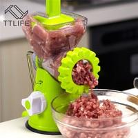TTLIFE New Arrival Manual Meat Household Grinder Sausage Handmade Stir Pepper Peanut Garlic Mincer Meat Tools For Kitchen
