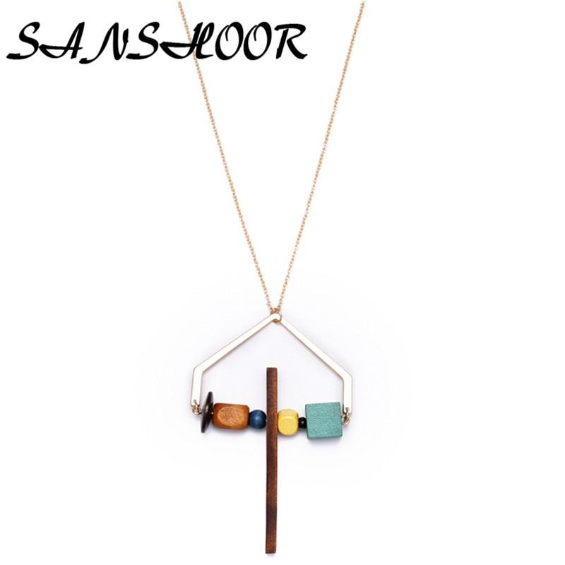 Sanshoor Latest Women Indain Jewelry Collar Chokers -5533