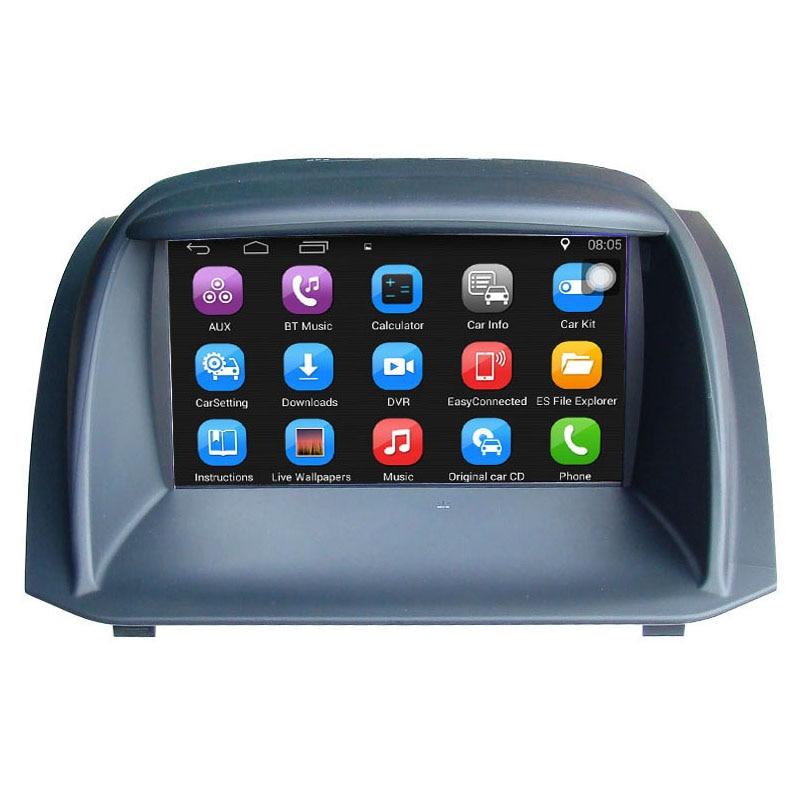 Car media player for Ford Fiesta car Video for Fiesta,original car upgrade,keep original Radio(CD) all functions