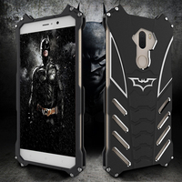 R Just Brand Luxury Batman Design Metal Aluminum Armor Cases For Xiaomi Max Mi5 Mi 5S