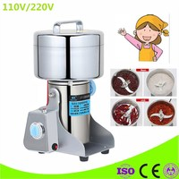 New Electric 1000g Grains Spices grinder Chinese Medicine Cereals Coffee Dry Food Powder Crusher Mill Grinding Machine
