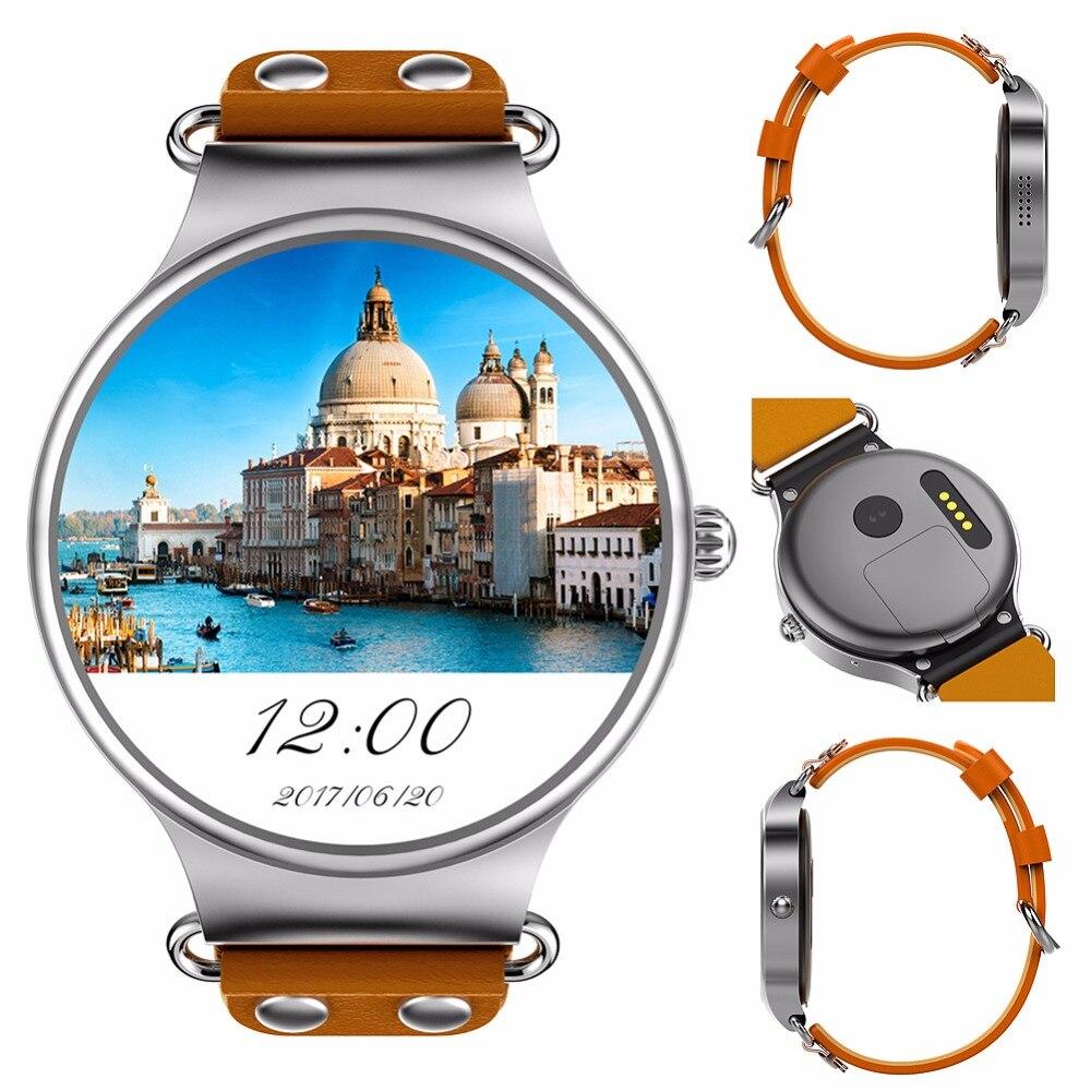 Langtek kw98 Смарт часы Android 5.1 3G WI FI GPS часы MTK6580 SmartWatch IOS Android для Samsung Шестерни S3 Xiaomi pk kw88
