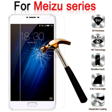 For Meizu Meilan 3 s M3s Mini M2 M3 Note Cover Tempered Glass For Meizu MX4 MX5 Pro MX6 U10 U20 Screen Protector Film Case