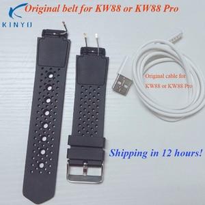 Brand new original watch band belt smart design for kw88 kw88 pro smart watch wrist strap wearable devices pk mi band 3 strap(China)
