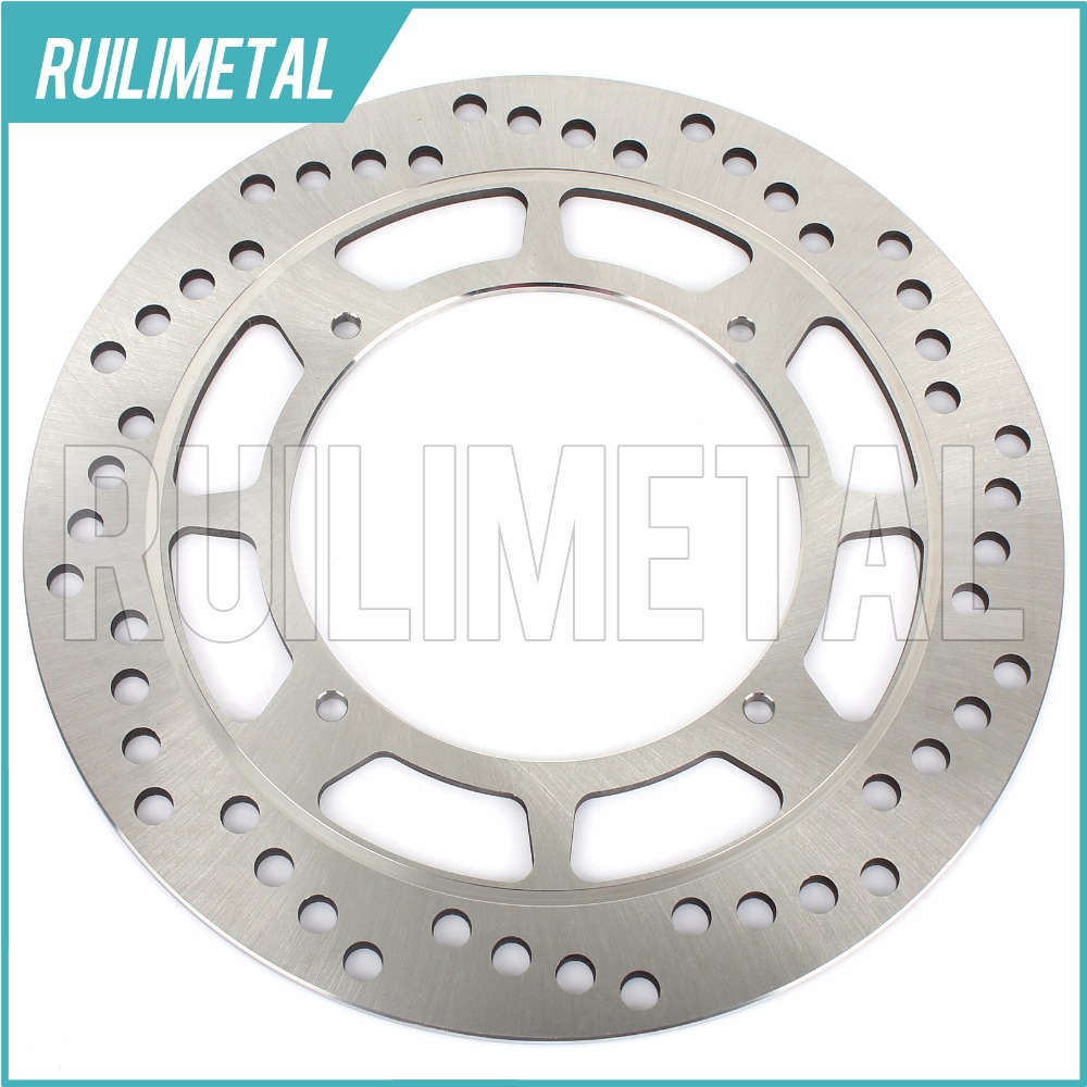 Front Brake Disc Rotor for HONDA XR 350 400  440 R 1996 1997 1998 1999 2000 2001 2002 2003 2004 2005 CR 500 XL 600 L Dakar  650 for honda xr 250r 1996 2003 xr 400r 1996 2004 license plate holder mount led lights bracket