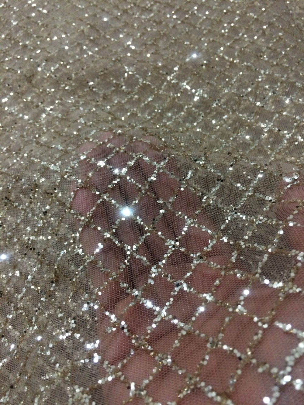 high quality french tulle lace with syj 442 embroidery