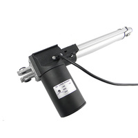 New Product 100mm Stroke DC 12Volt Linear Actuator with Brackets IP65 Low Speed for Adjustable Standing Desk
