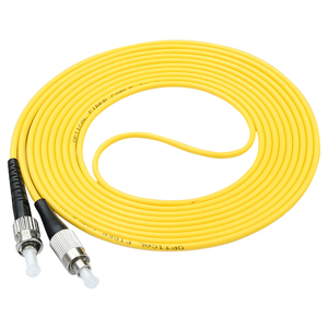 Image 4 - Optical Fiber patch Cord FC/UPC ST/UPC Simplex Single mode 3mm 3Meters Fiber Optic Patch Cord FC ST Fiber Cable Connector