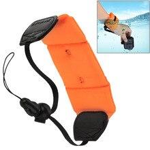 Para Go Pro Acessórios de Mergulho Natação Flutuante Bobber Mão Alça de Pulso para GoPro HERO4 HERO5 Sessão HERÓI 5 4 3 + SJ4000 D20 D30