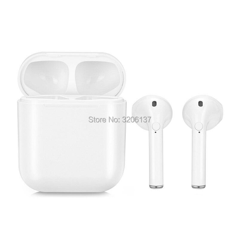 Neue Twins Wahre Drahtlose Ohrhörer Mini Bluetooth V4.1 DER Stereo sport Kopfhörer Für iPhone X 8 Note8 TWS Für Alle Smartphone