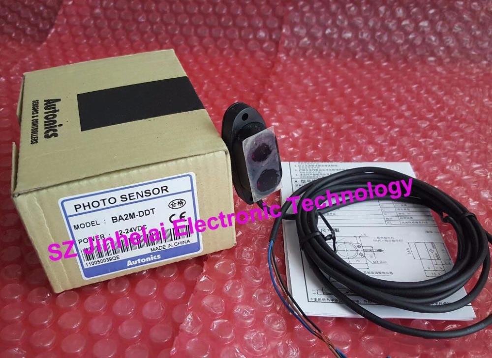 все цены на 100% Authentic original BA2M-DDT AUTONICS PHOTOELECTRIC SWITCH DC12-24V онлайн