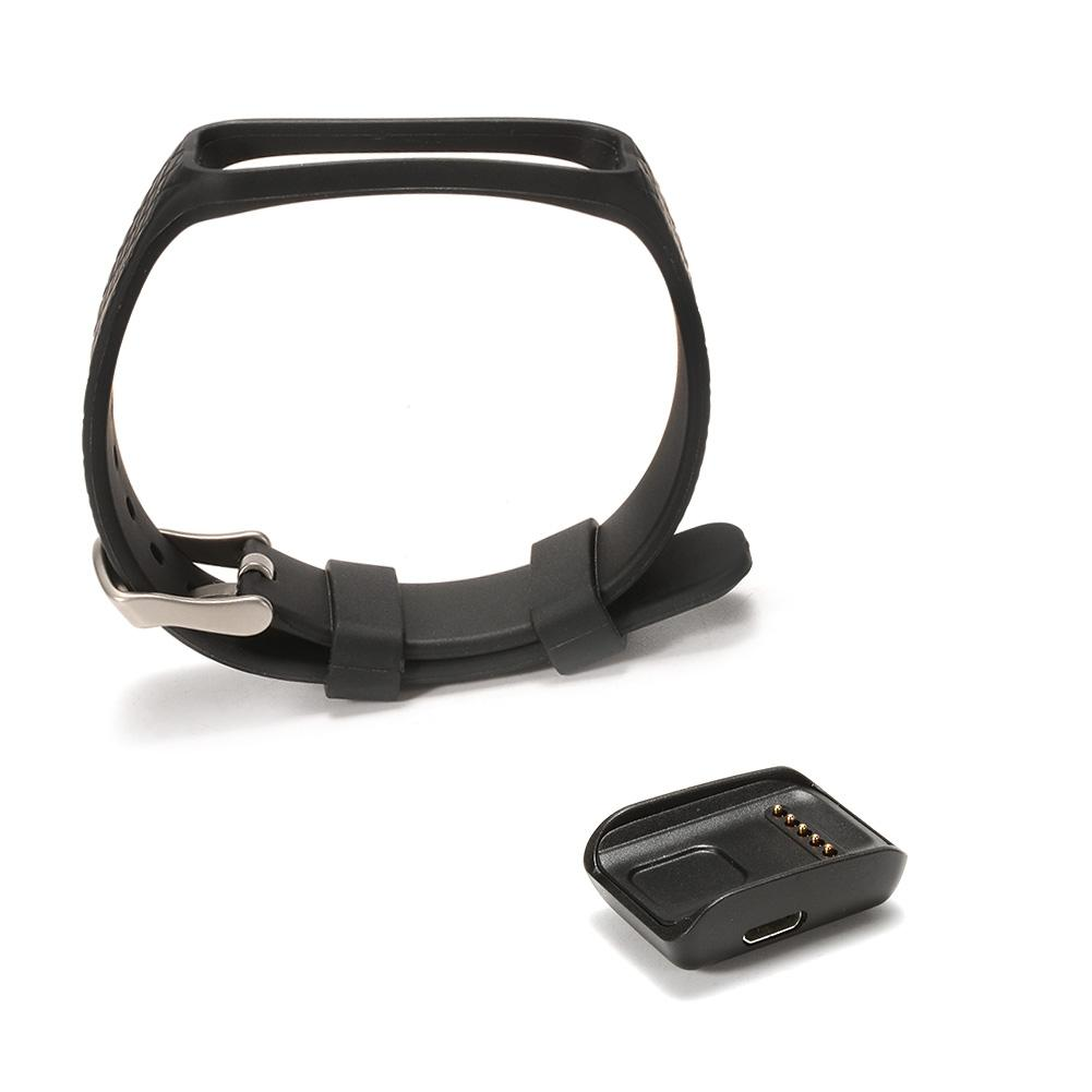 EastVita tWristband Magnetic Charger with Silicone Fastener Metal Clasp (No Tracker) Accessory for inchor Fitness Tracker Band