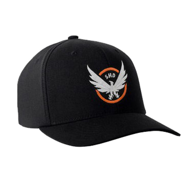 The Division Tom Clancy's Baseball Cap Snapback Hat Cosplay Costume Accessories Black Cotton Hats Halloween Christmas Gift