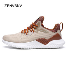 Zenvbnv hot sale Men Sneakers Breathable mesh Running Shoes for adults summer Outdoors Fitness Sports jogging male Trainers foot