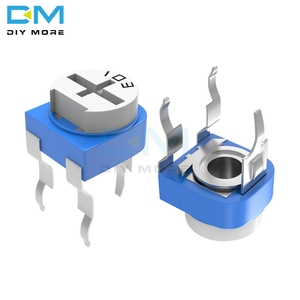 10PCS 100R 200R 500R 1K 2K 2.2K 3K 5K 10K 20K 50K 100K 500K 1M Ohm RM-065 RM065 Trimpot Trimmer Potentiometer Variable Resistor