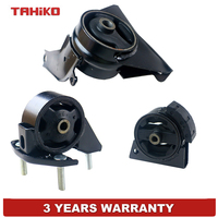 3pcs Engine Motor Mount Mounts Set Fit for TOYOTA Corolla 1.6L 1.8L 93 97 Auto