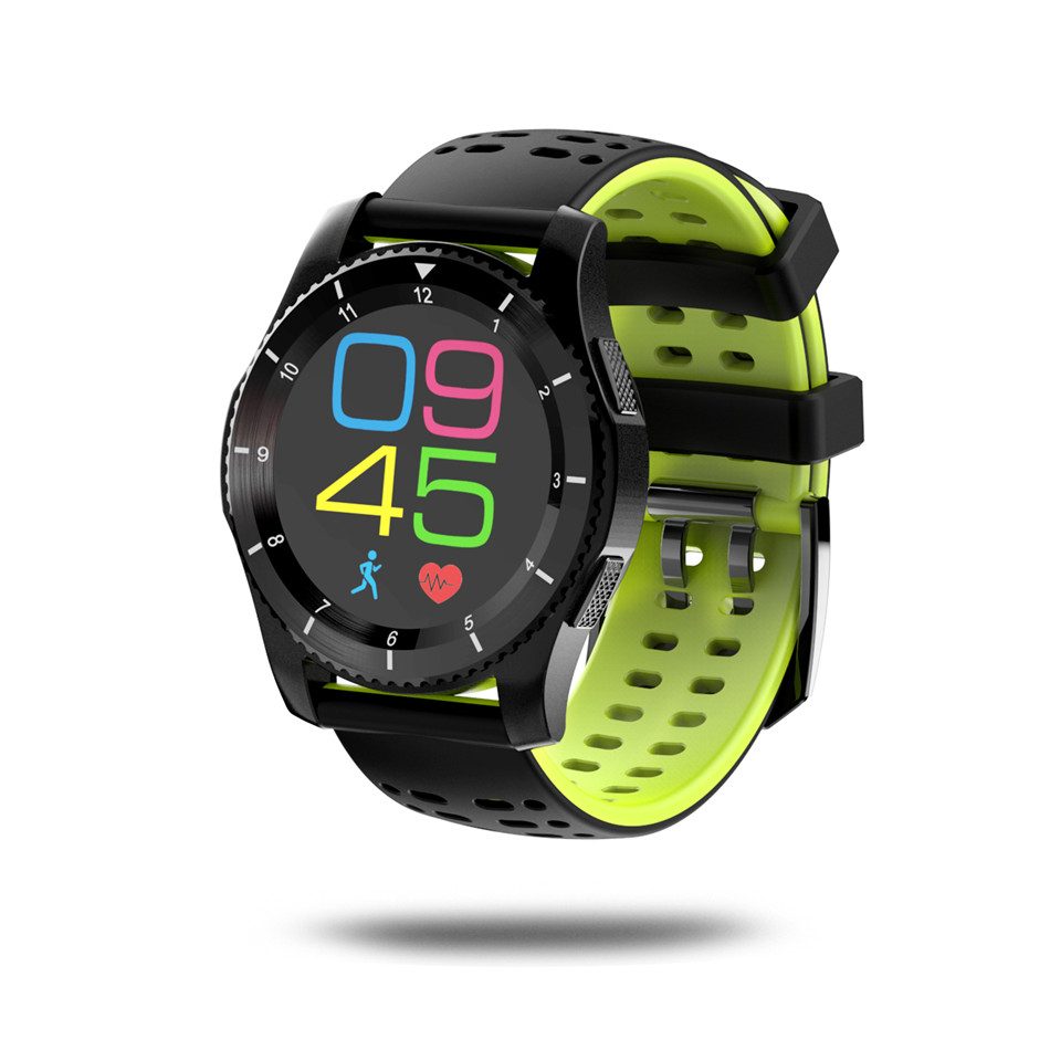 Bluetooth 4.0 Smart Watch NO.1 MTK2502 Sports Wristwatch Heart Rate monitor blood pressure Pedometer Smartwatch Support SIM Card