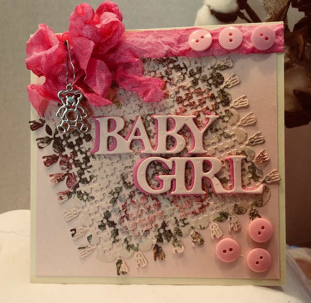 Alinacraft Metal Cutting Die Cut Alphabet Baby Girl Born Letters