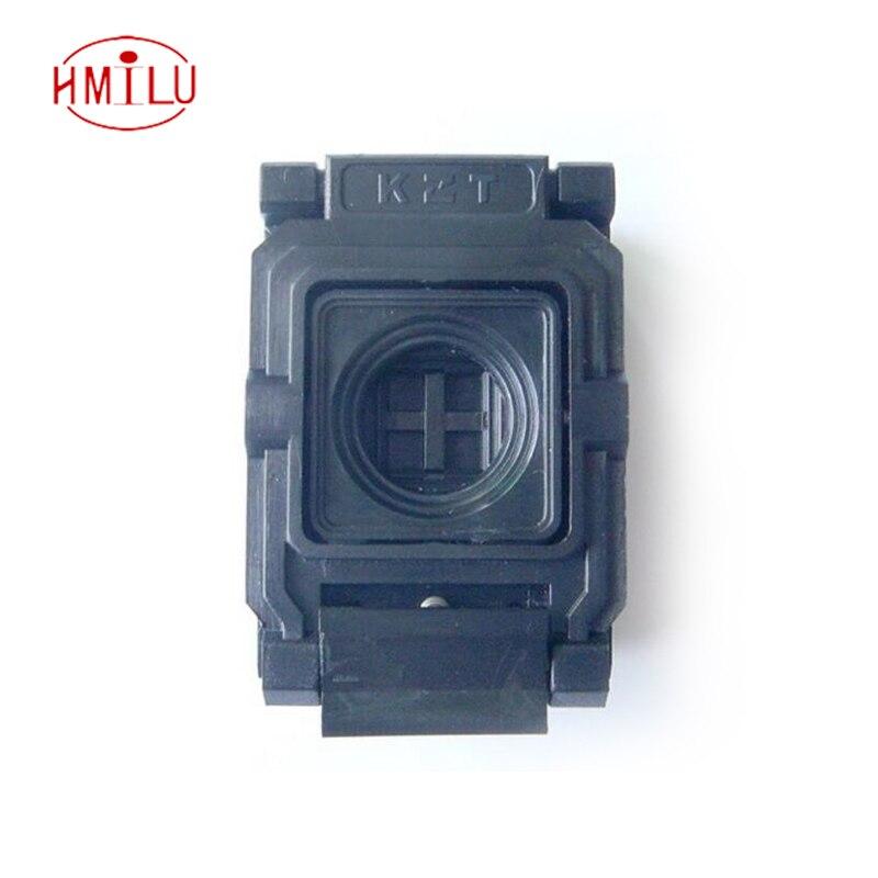 BGA48 Clamshell burn-in socket pin pitch 0.8mm IC size 8*10mm BGA48(8*10)-0.8-CP08/50N BGA48 VFBGA48 Burn in/programmer socket интегральная микросхема 10 ic ad8616ar 8 8 soic