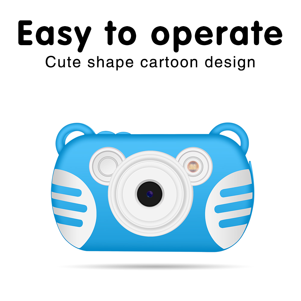 Camera Full HD 1080P Portable Dslr Digital Video Camera 2 Inch LCD Screen Display Children for Home Travel photo Use