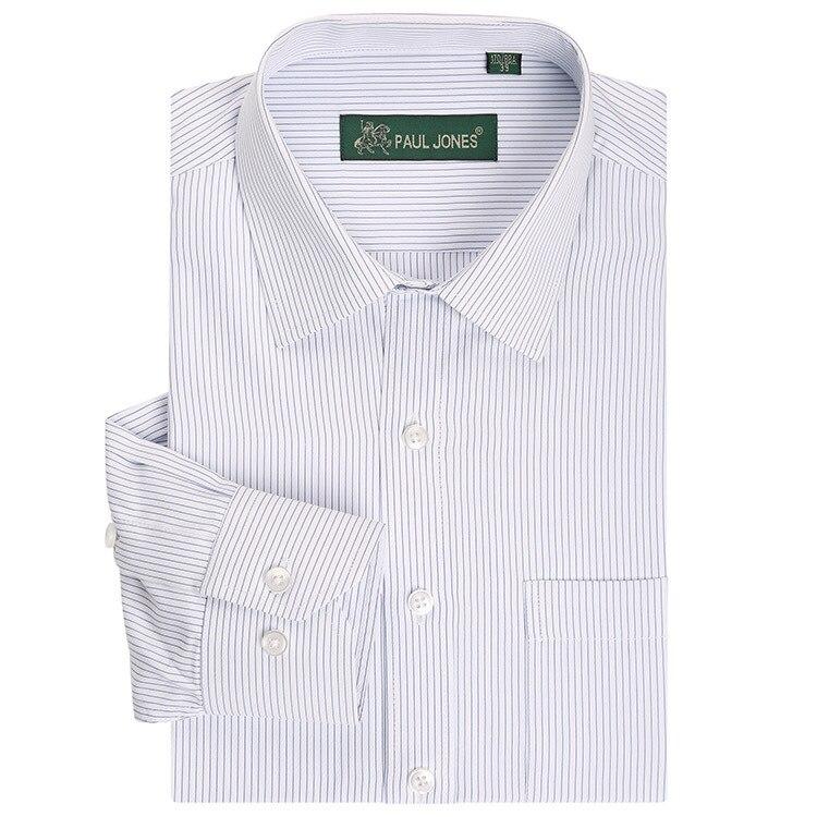 Классический полосатый мужчины платье рубашки с длинным рукавом плюс размер бизнес формальные рубашки мужские случайные рубашки camisa masculina camisas hombre
